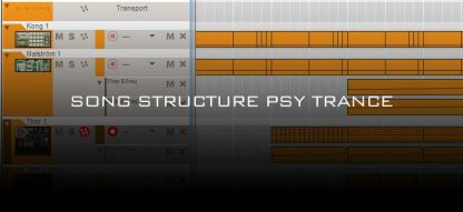 Song Structure of Psy Trance