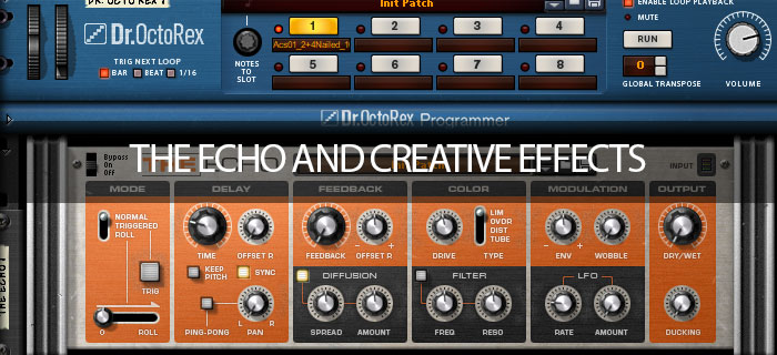 The Echo and creative effects
