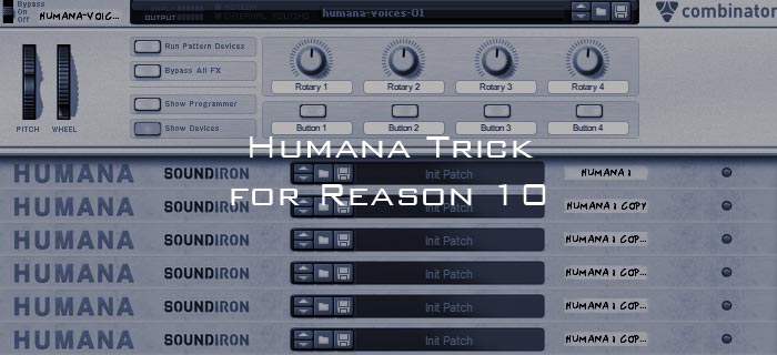 Humana trick for Reason 10