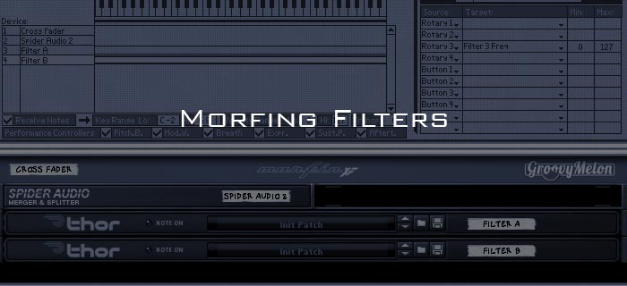 Morphing Filters