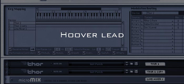 How to create a hoover lead