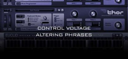 Control Voltage Adjusting Phrases