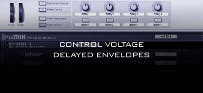 Control Voltage Delayed Envelope