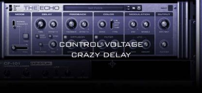 Control Voltage Crazy Delay