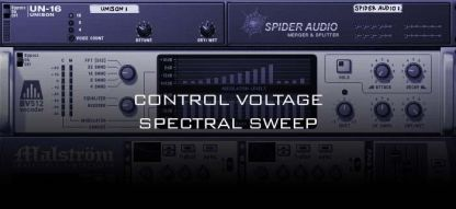 Control Voltage Spectral Sweep
