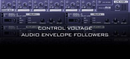 Control Voltage Audio Envelope Followers