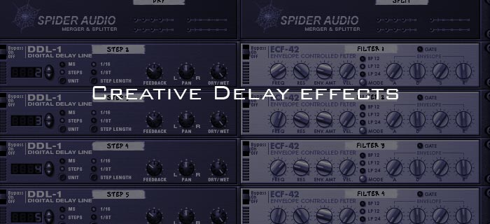 Creative Delay effects