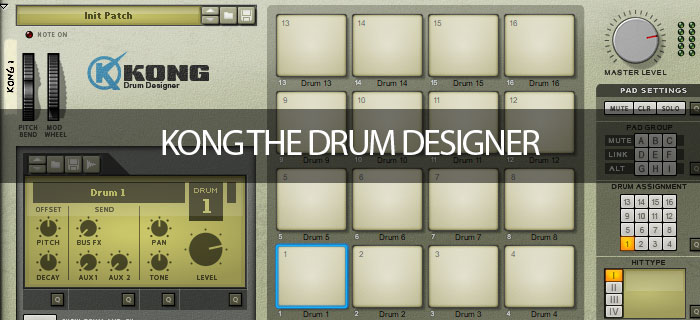 Kong the Drum Designer getting started series
